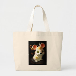 Prison Mouse (and Monkey) Large Tote Bag