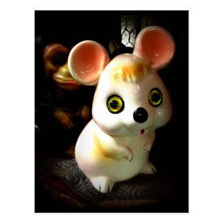 Prison Mouse (and Monkey) Postcard