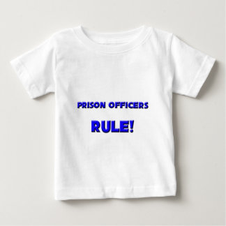 Prison Officers Rule! Tee Shirts