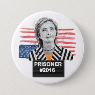 Prisoner #2016 3 inch round button