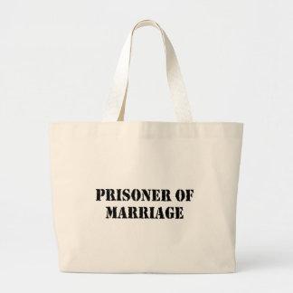 Prisoner of Marriage Large Tote Bag