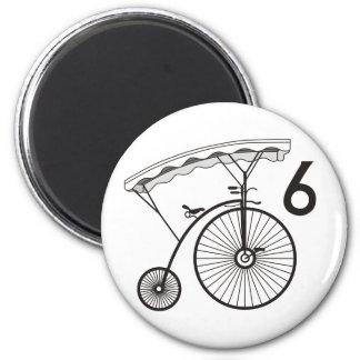 Prisoner Village Badge 6 2 Inch Round Magnet