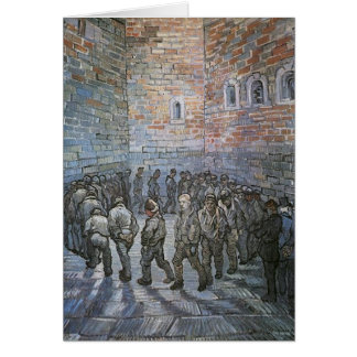 Prisoners Exercising by Vincent van Gogh Card