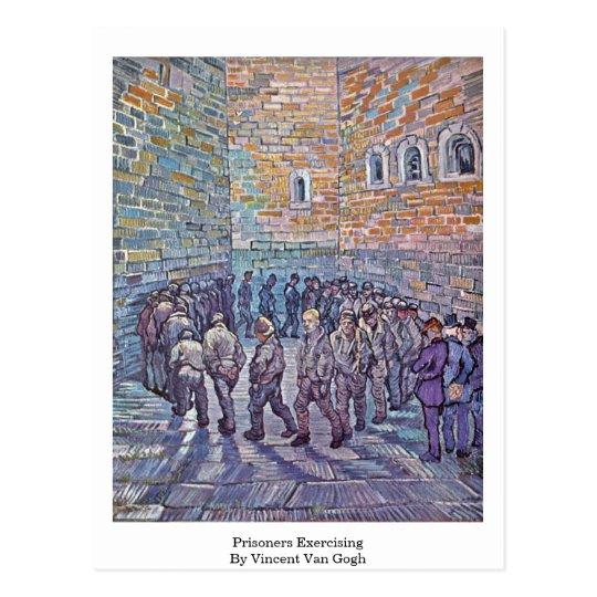 Prisoners Exercising By Vincent Van Gogh Postcard