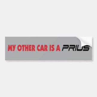 Prius Bumper Sticker 3