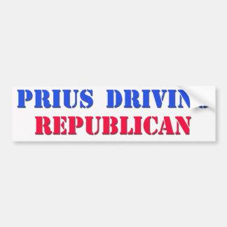 priusdrivingrepublican bumper sticker