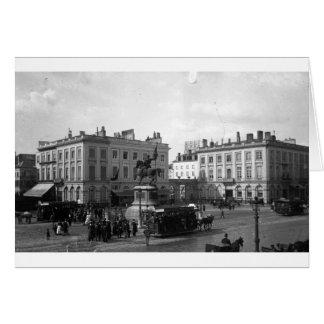 PRIVAT LIVEMONT BRUXELLE PLACES ROYAL 1900 CARD