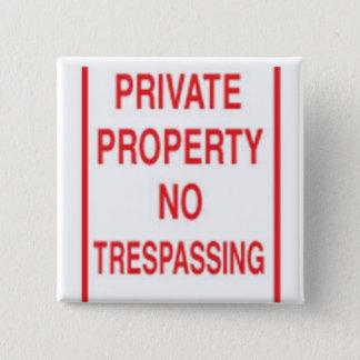 private 2 inch square button