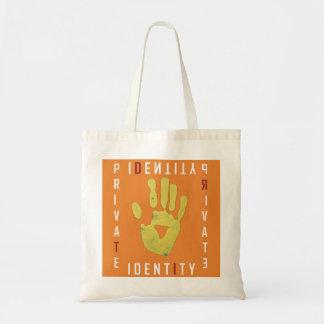 Private Identity Tote Bag