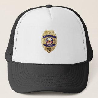 Private Investigator Badge Trucker Hat