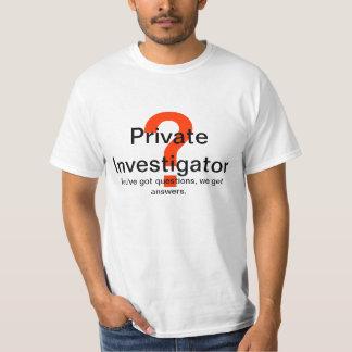 Private Investigator T-Shirt