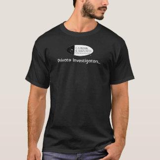 Private Investigators (For the Ladies) T-Shirt