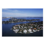 Private Island homes of Biscayne Bay, Star Poster