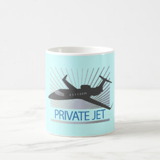 Private Jet Aircraft Coffee Mug