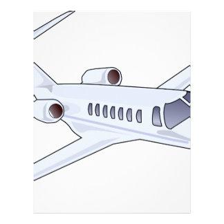Private Jet Letterhead