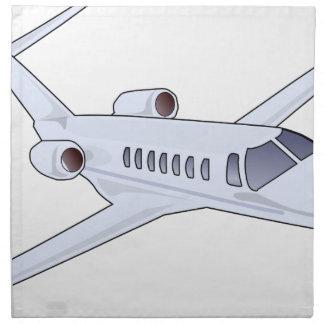 Private Jet Napkin