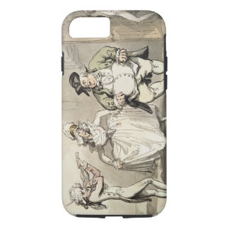 Private practice previous to the ball, from 'Scene iPhone 7 Case