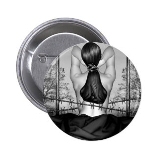 Private Prison of Pain - Self Portrait 2 Inch Round Button