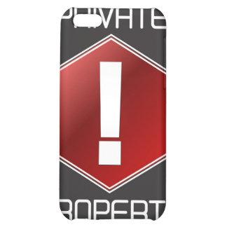 PRIVATE PROPERTY iPhone 5C CASE