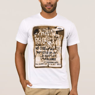 Private Property Sign Vintage Graphic T Shirt