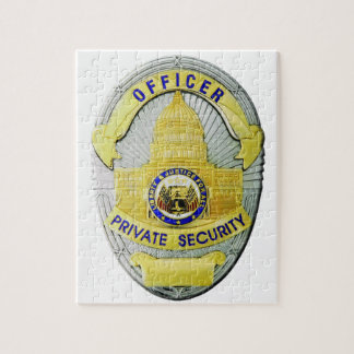 Private Security Jigsaw Puzzle