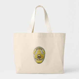 Private Security Large Tote Bag