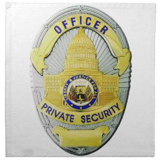 Private Security Napkin