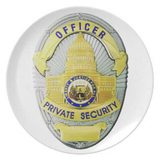 Private Security Plate