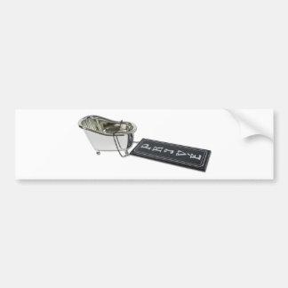 PrivateBath101610 Bumper Sticker