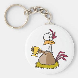 Prize Chicken Keychain