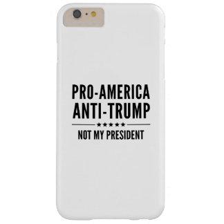 Pro-America Anti-Trump Barely There iPhone 6 Plus Case