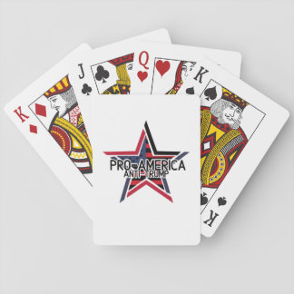 Pro-America Anti-Trump Playing Cards