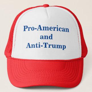 Pro-American and Anti-Trump Cap