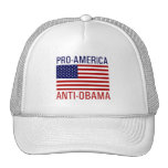PRO-AMERICAN ANTI-OBAMA TRUCKER HAT