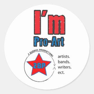 Pro Art Sticker