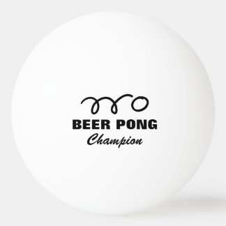 Pro beer pong champion ping pong balls ping pong ball