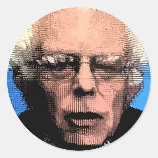 Pro-Bernie Sanders 2016 Round Sticker