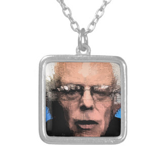 Pro-Bernie Sanders 2016 Silver Plated Necklace