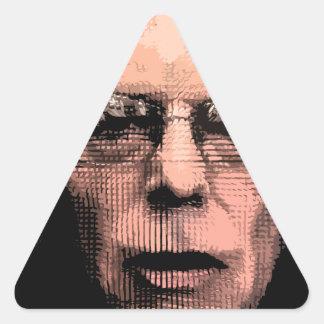 Pro-Bernie Sanders 2016 Triangle Sticker