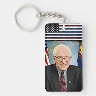 Pro Bernie Sanders Support Key Chain
