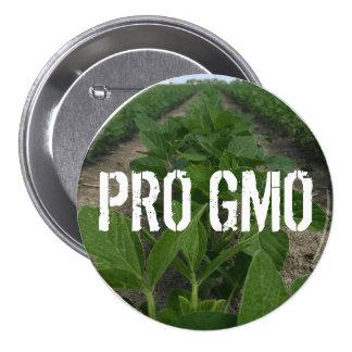 Pro bouton de GMO Macaron Rond 7,6 Cm