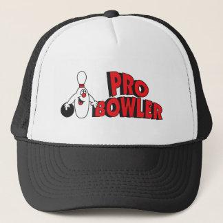 Pro Bowler Bowling Pin Trucker Hat