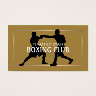 Pro Boxers, Boxing Business Card