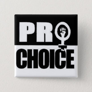 Pro-choice 2 Inch Square Button