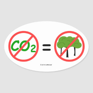 Pro-CO2 Oval Sticker