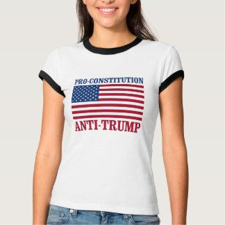 Pro-Constitution Anti-Trump - Anti-Trump - T-Shirt