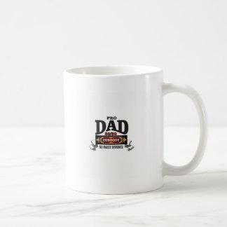 pro dad in custody courts coffee mug