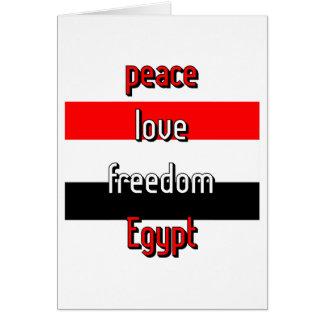 Pro-democracy Egypt Card