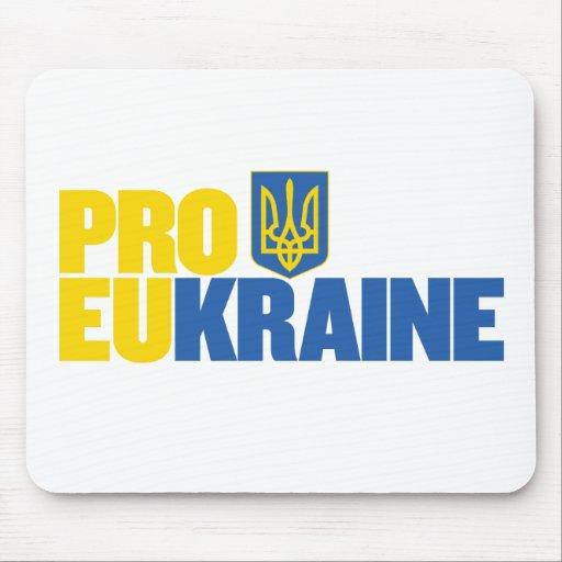 Pro EU Pro Ukraine Mousepad