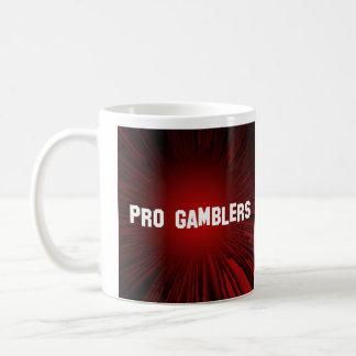 Pro Gamblers Classic White Coffee Mug